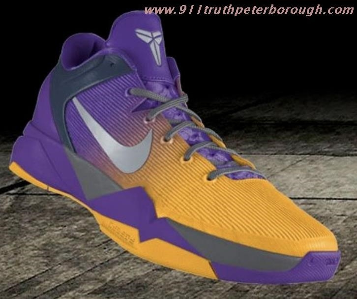 Nike Shoes Purple And Gold